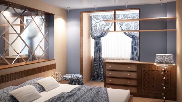Интериорни решения с приобщен балкон