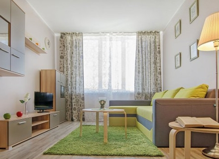 Практичен апартамент с изчистен и свеж интериор