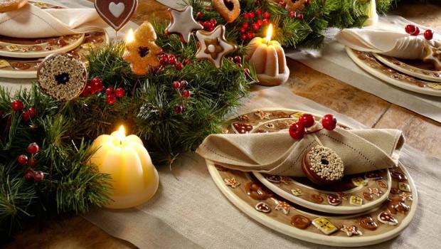 Идеи за украса на Коледната трапеза