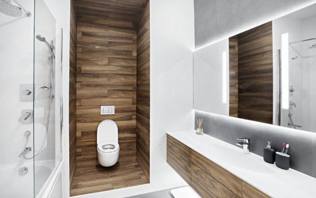 Модерните плочки за баня през 2018 година Www
