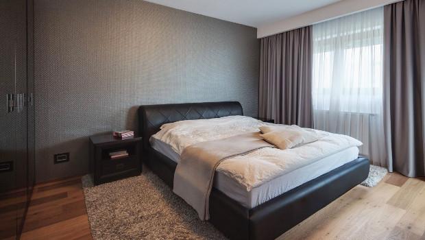 Идеи за спалня в сиво