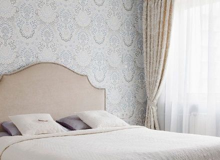 Спални в светли цветове