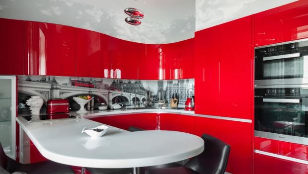 Кухня в червено - идеи за мечтатели