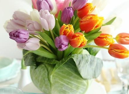 10 пролетни декорации с цветя