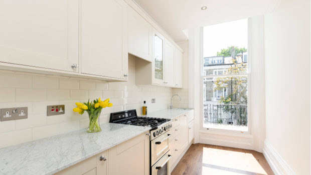 Дизайн на кухни от 6 кв. м. - стилни и практични