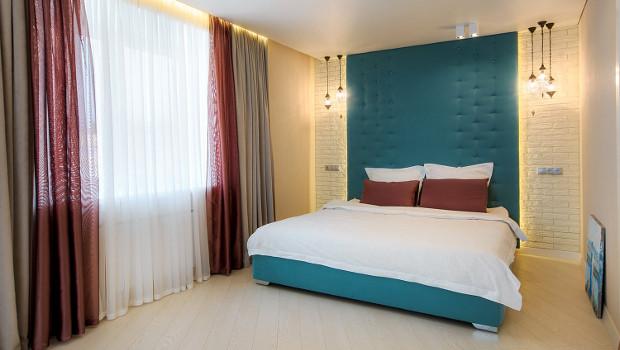 Как да декорираме стените в спалнята