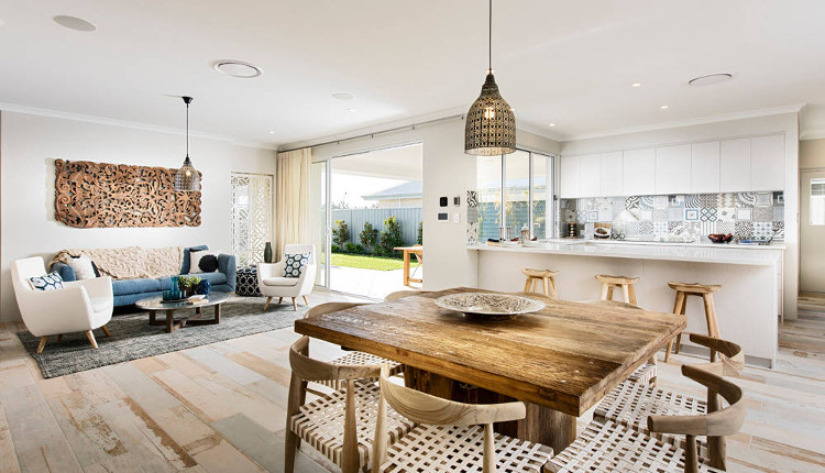 Ваканционна къща с удивителен дизайн