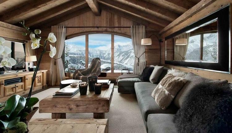 Идеи за вилата - топлина и уют в стил шале