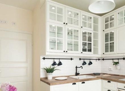 Дървен работен плот в кухнята - идеи и съвети