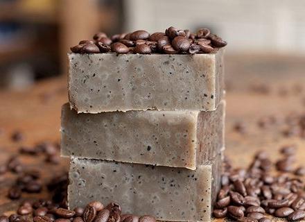 Рецепта за домашен сапун с кафе