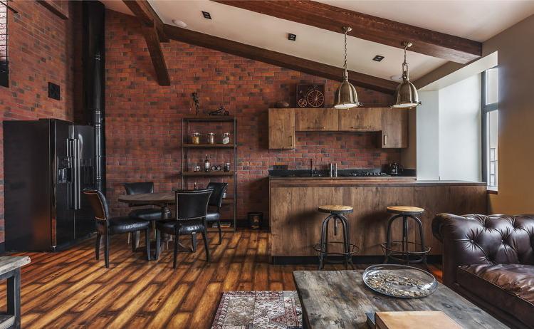 Апартамент в стил лофт