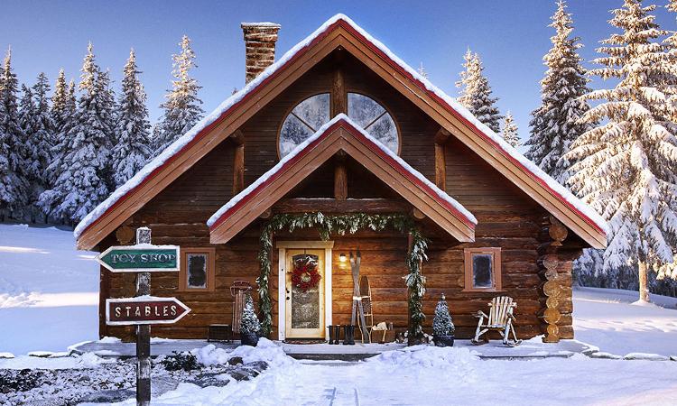 Той съществува! Домът на Дядо Коледа