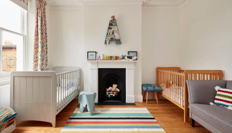 Детски стаи в неутрални цветове