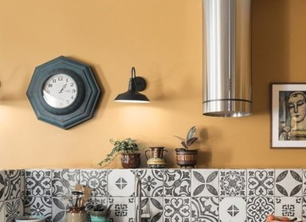 Как да декорираме стените в кухнята