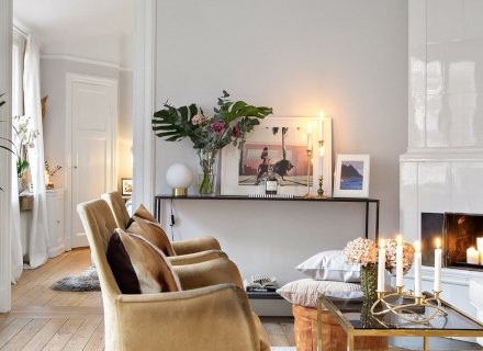 Дизайн на едностаен апартамент - 50 кв.м.