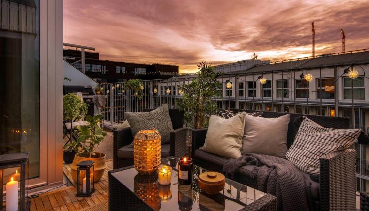 Апартамент 105 кв.м. с очарователна тераса