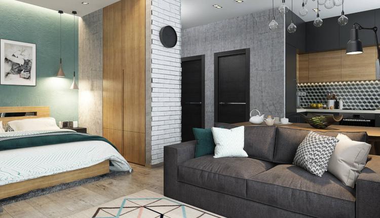 Едностайно жилище с ниша - как да оптимизираме пространството