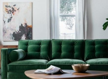 Диванът в дневната - избор на модел, размер, дизайн и разположение