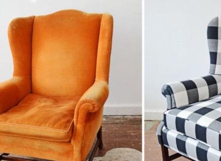 Как да осъвременим старите столове