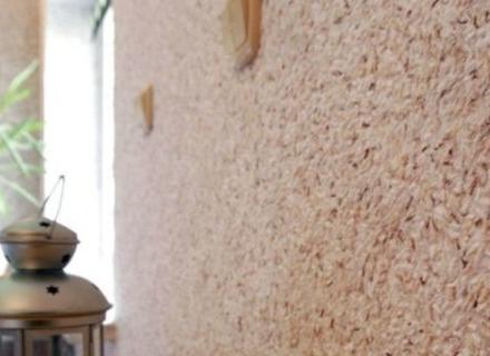 Копринена декоративна мазилка - нанасяне и интериорни идеи