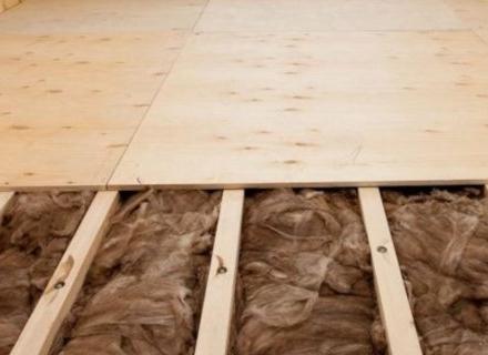 Изолация на пода - какъв материал да изберем