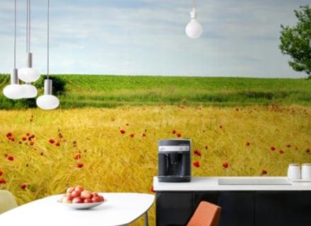 Фототапети в кухнята - тенденции 2019-2020 година