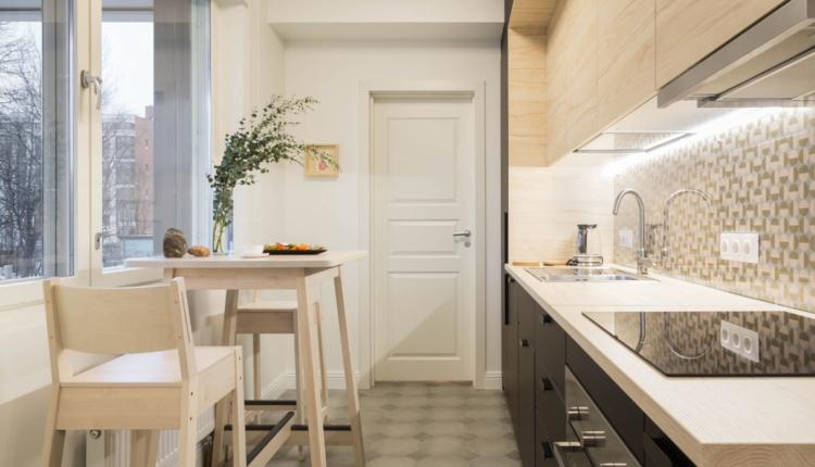 Дизайн на тясна кухня