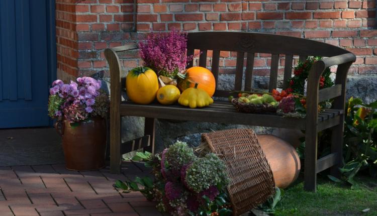 Идеи за есенна украса в градината