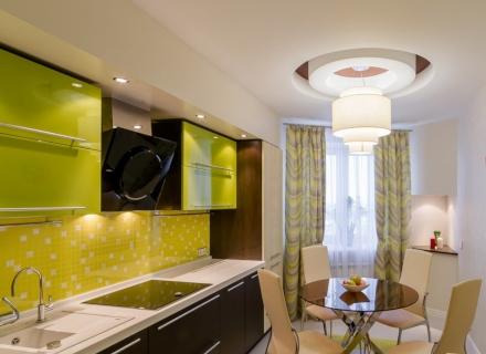 Модерна кухня в зелено