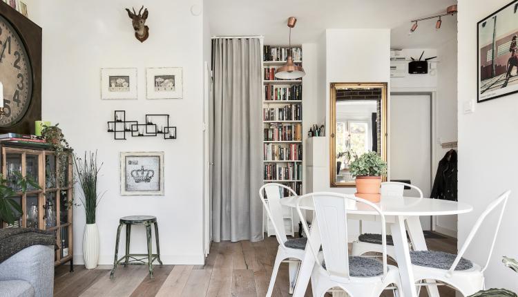 Дизайн на едностаен апартамент само 39 кв.м.