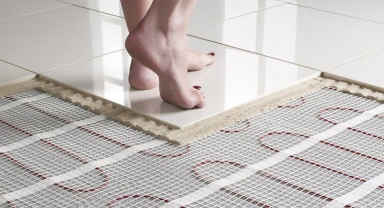 Подово отопление в банята