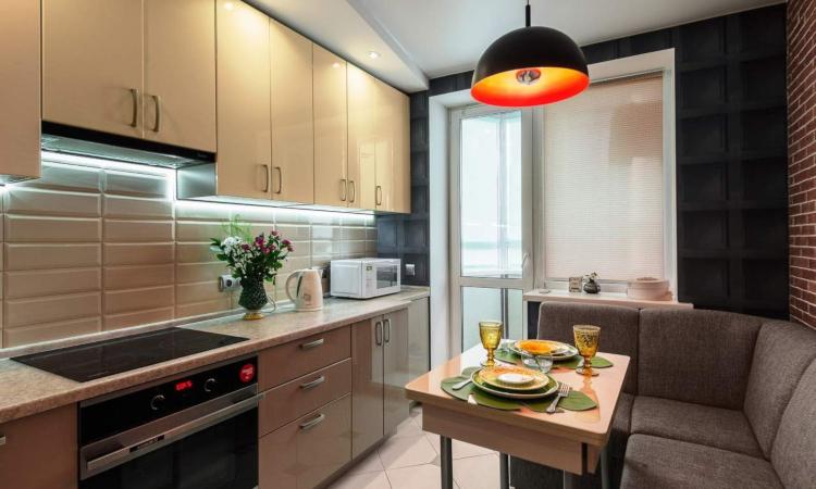 Обзавеждане на кухня от 9 кв.м