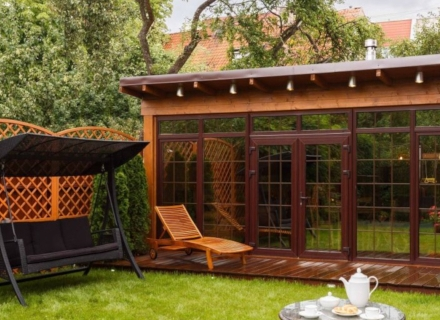 Градинските мебели - вид, материал, дизайн