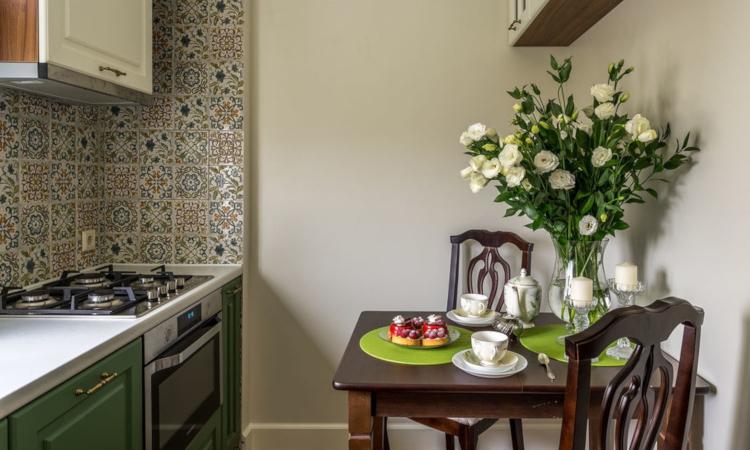Трапезна маса за малка кухня