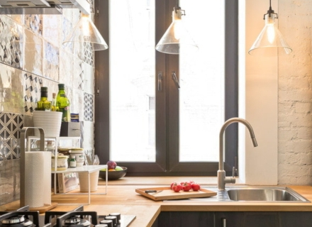 Как да изберем цвят за кухненския плот