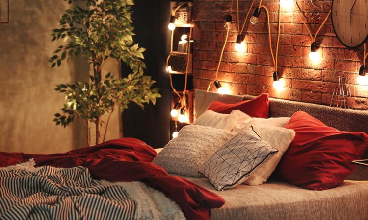 Романтичен интериор в спалнята - как да го създадем?