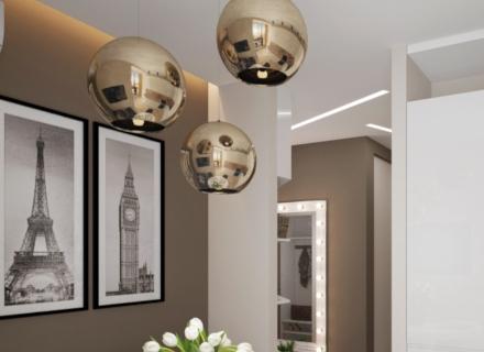 Елегантен и практичен двустаен апартамент в съвременен стил