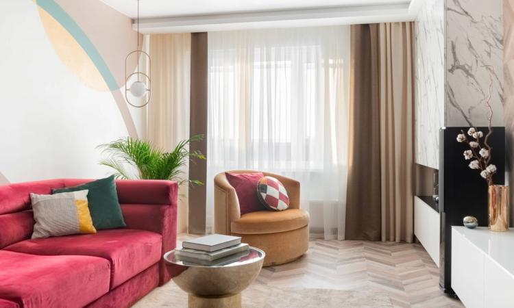 Как да добавим цвят в интериора на дневната