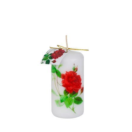 Свещ роза 100/50мм
