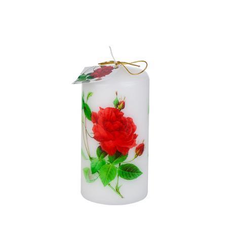 Свещ роза 120/60мм