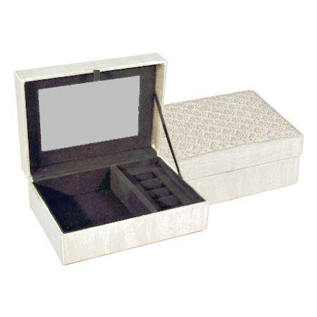 Кутия за бижута Сребро