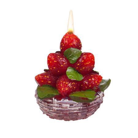 Свещ ягоди букет