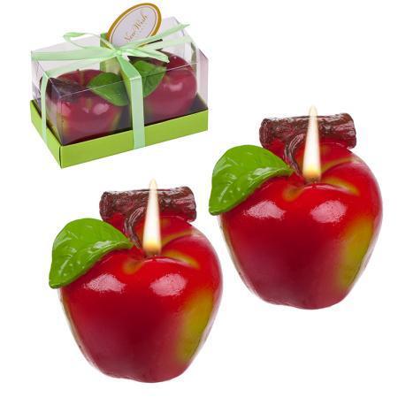 Свещи ябълка
