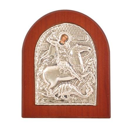 Икона Св. Георги злато