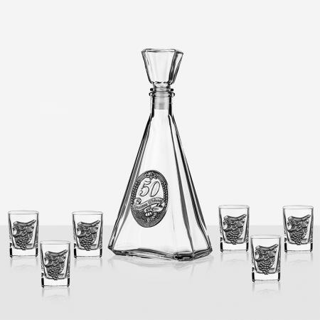 Сет бутилка+6 чаши