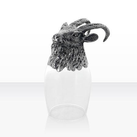 Чаша ракия козел