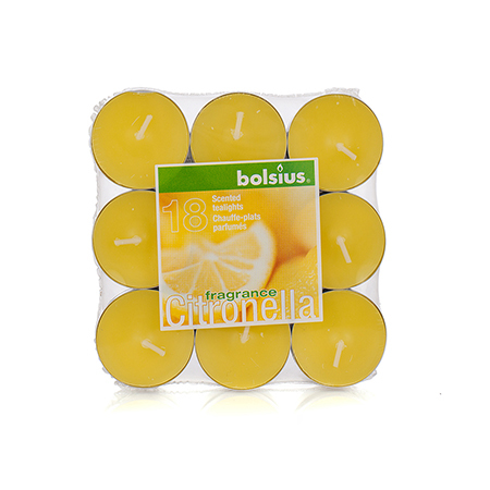 Чаени свещи лимон