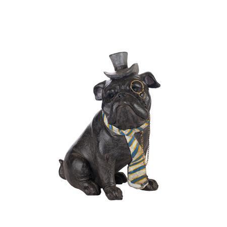 Булдог с вратовръзка