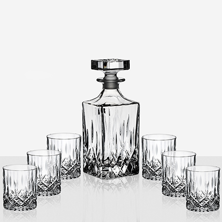 Чаши за уиски и бутилка Opera