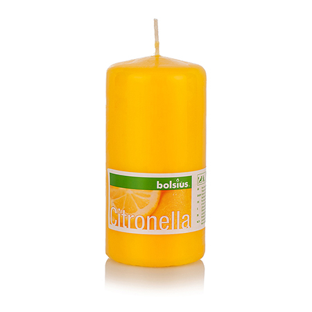 Свещ лимон 120/60 мм.